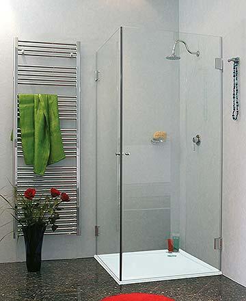 100 x 90 cm eck duschkabine. Black Bedroom Furniture Sets. Home Design Ideas