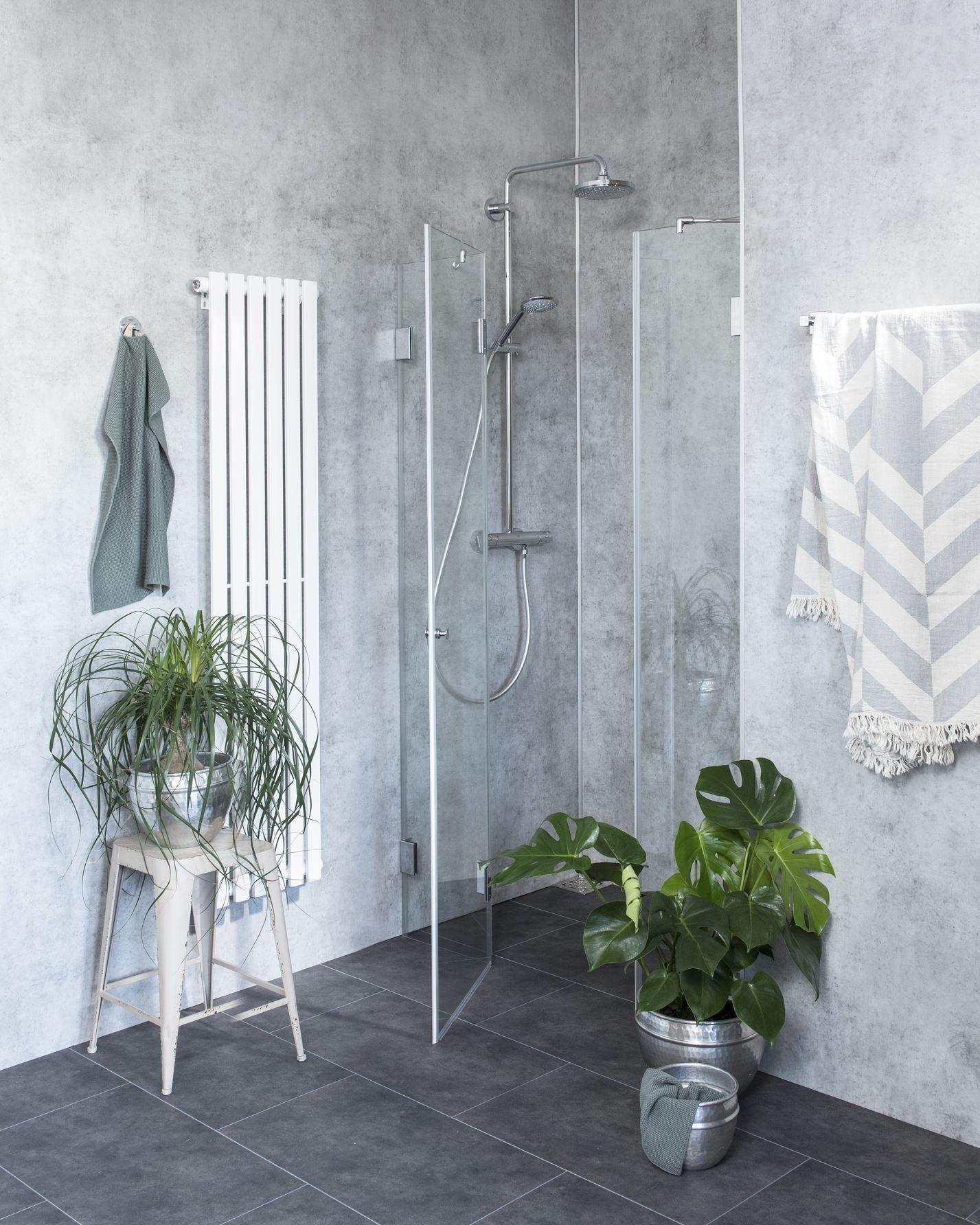 duschabtrennung f r nische ab 110 klarglas chrom h 195 combia a2n. Black Bedroom Furniture Sets. Home Design Ideas