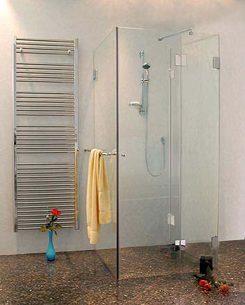 3 seiten u duschkabine klarglas chrom h 195cm combia au2s. Black Bedroom Furniture Sets. Home Design Ideas