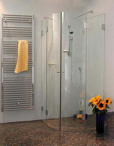 3 seiten rund duschkabine klarglas chrom h 195cm combia au2v. Black Bedroom Furniture Sets. Home Design Ideas
