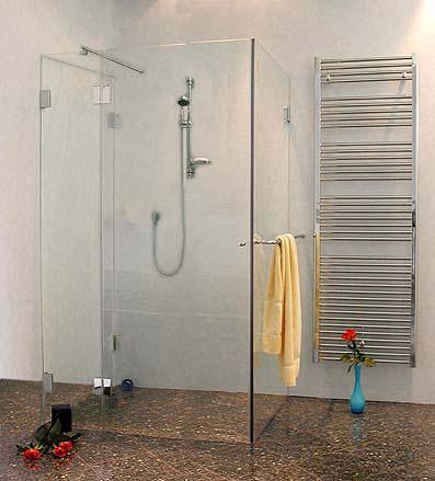 3 seiten u duschkabine klarglas chrom h 195cm combia auxs. Black Bedroom Furniture Sets. Home Design Ideas