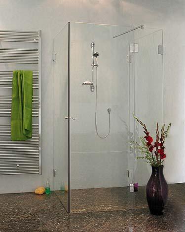 3 seiten u duschkabine klarglas chrom h 195cm combia auax. Black Bedroom Furniture Sets. Home Design Ideas