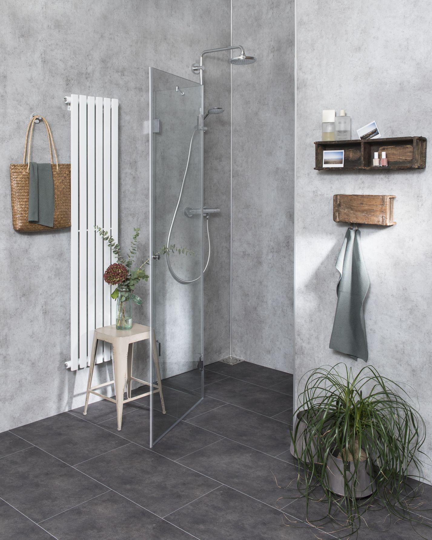 duschabtrennung f r nische klarglas chrom h 195 combia b2x. Black Bedroom Furniture Sets. Home Design Ideas