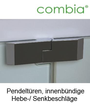 dusche nischent r pendel dreht r mit hebe senk von combia. Black Bedroom Furniture Sets. Home Design Ideas