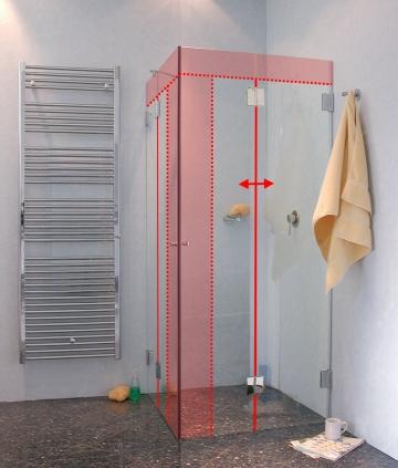 duschfaltt r glas duschkabine als faltt r dusche uvp bis 40. Black Bedroom Furniture Sets. Home Design Ideas
