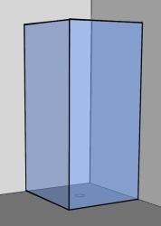 Top Eckdusche Glas & Duschkabine als Eckeinstieg Dusche. UVP bis -40% LW86