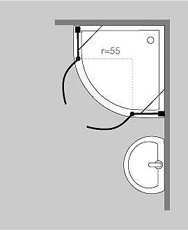 sonderangebote g nstige duschabtrennung duschkabine. Black Bedroom Furniture Sets. Home Design Ideas