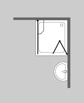 faltt r duschwand glas ber eck von combia jetzt ansehen. Black Bedroom Furniture Sets. Home Design Ideas