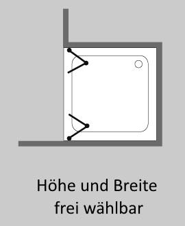 duschfaltwand in nische aus glas im sonderma von combia. Black Bedroom Furniture Sets. Home Design Ideas