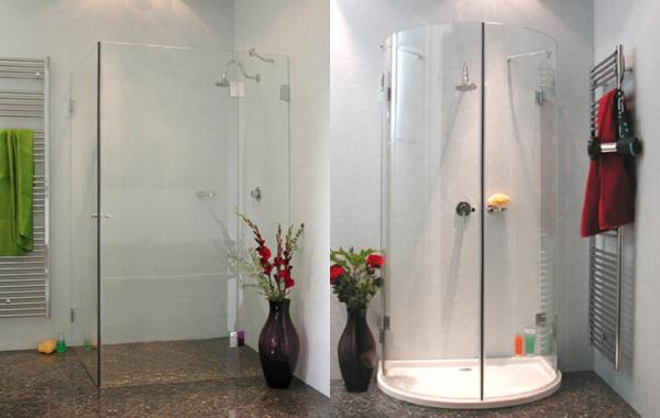 Glasduschen In Verschiedenen Designs