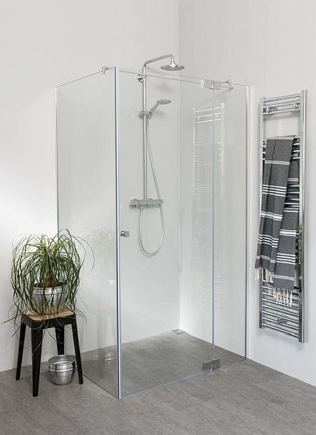 Teilgerahmte Duschen