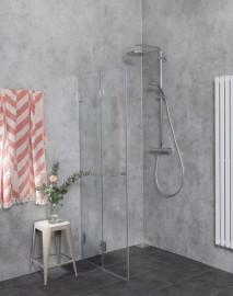 Dusch Falttüren