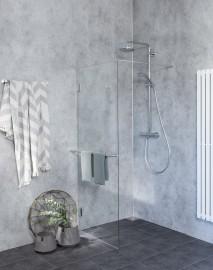 Walk In und Duschtrennwand