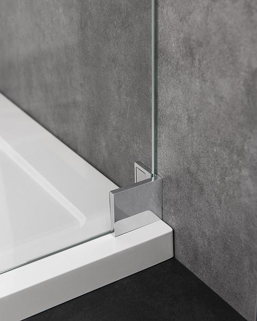 Wandbefestigung Pendeltür Dusche